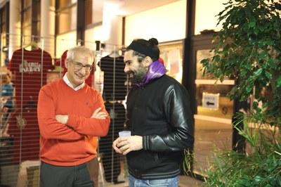 Yves Beauchamp, président des AEM, et Fredo, principal interprète des Ogres