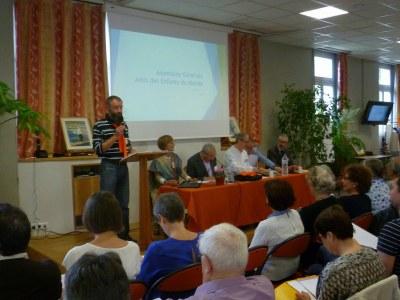 Le président de la région Bretagne/Pays de Loire ouvre le congrès.
