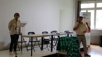 13- Introduction du congres par l'équipe organisatrice du Nord ... doublée en Ch'ti