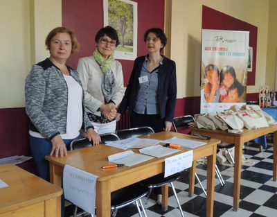 1- Organisation de la logistique (chambres, repas ...) par l'équipe de la région Nord des AEM