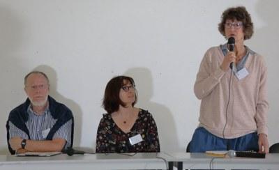 26 - Delphine Delesalle, animatrice de la commission Adoption, avec Béatrice Musseau et Jean Mallet