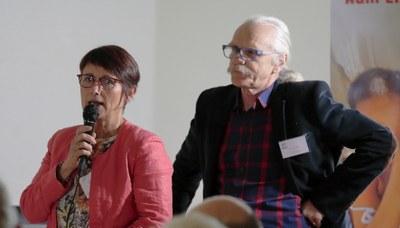27 Jean-Louis Giner et Elisabeth Desroche à propos de l'Adoption en Haïti.